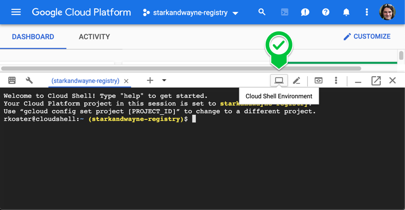 Some Google Cloud Shell love for the Cloud Foundry Ecosystem