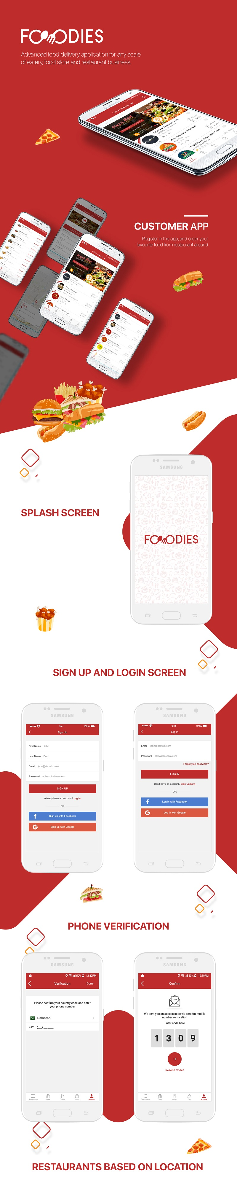 Restaurant Food Delivery & Ordering System With Delivery Boy - iOS - 5