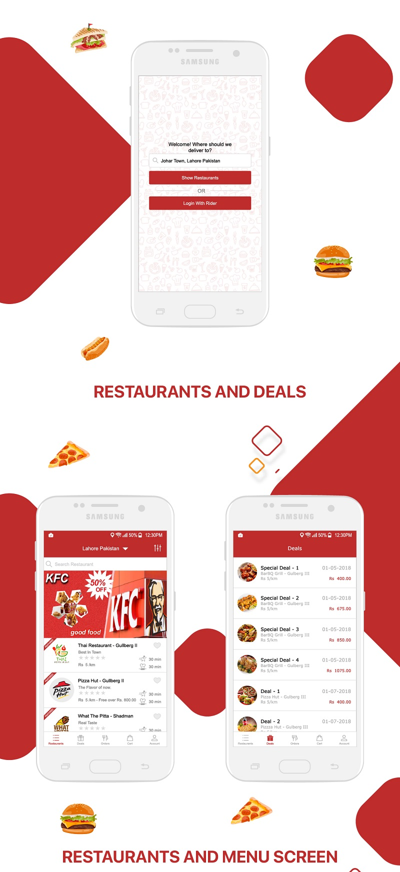 Restaurant Food Delivery & Ordering System With Delivery Boy - iOS - 6