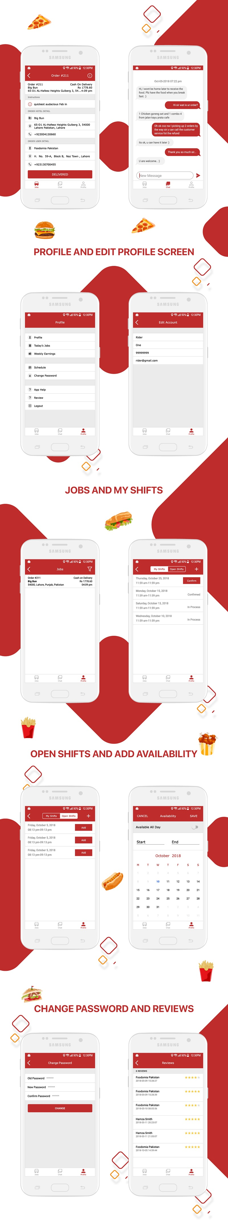 Foodies - IOS Delivery Boy Mobile App v1.0 - 3