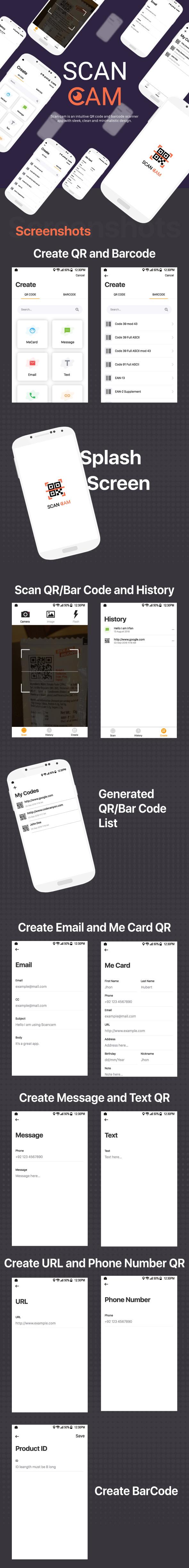 IOS QR Code Scanner und Generator - 5