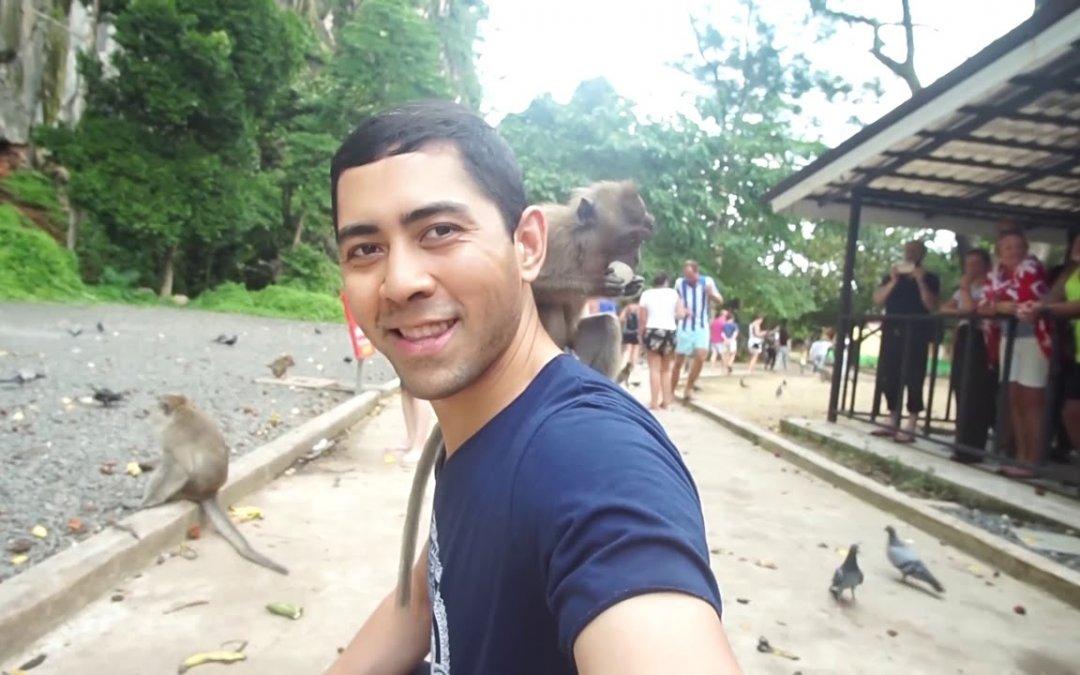 Phuket Part 2 Phang Nga bay, Monkeys and Caves