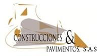 Logo construcciones   pavimentos s.a.s