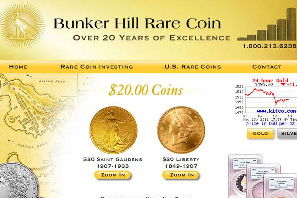 Bunker Hill Rare Coin