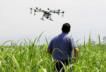 Farming from the Thermosphere