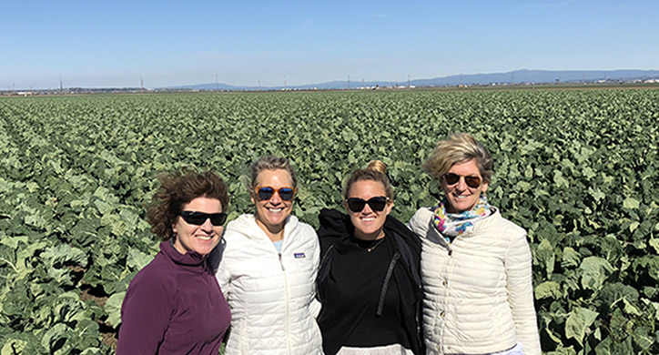 The Dirt-to-Dinner Team in Salinas Valley