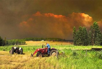 California Megafires and the Effects on Agriculture
