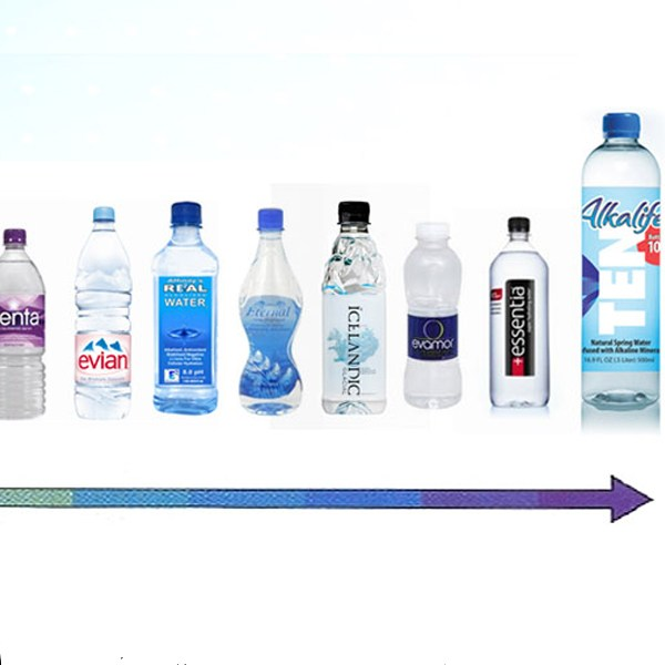 what�s with alkaline water dirt to dinner