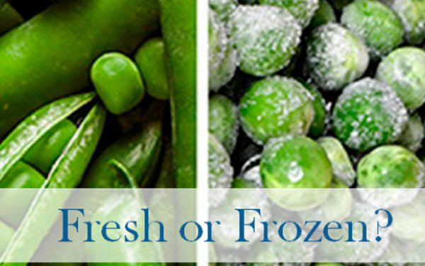 Frozen Fruits & Veggies: Is Fresh Always Best?