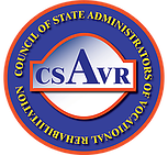 disabled person jobs: Council of State Administrators of Vocational Rehabilitation Logo