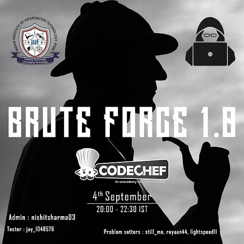BRUTE FORCE 1.0 (Poster)