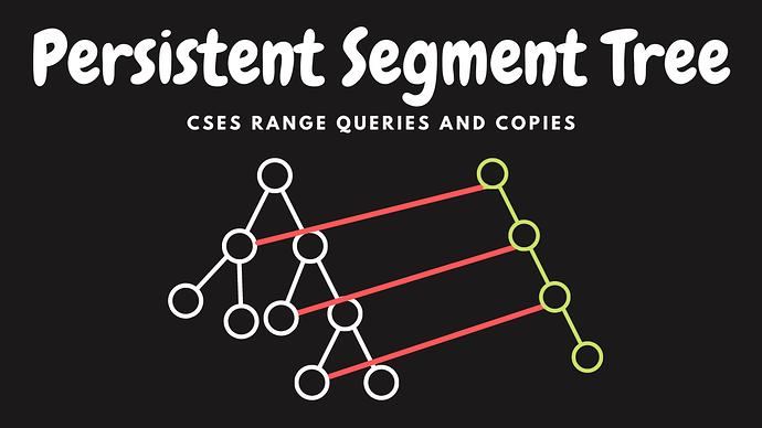 Persistent Segment Tree (2)