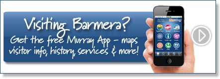 Visiting Barmera? Get the free Murray River App