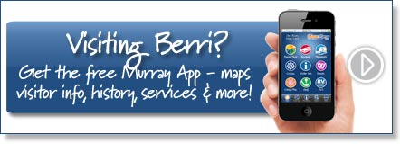 Visiting Berri? Get the free Murray River App