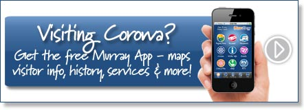 Visiting Corowa? Get the free Murray River App
