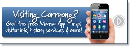 Visiting Corryong? Get the free Murray River App