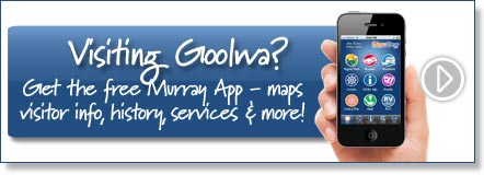 Visiting Goolwa? Get the free Murray River App