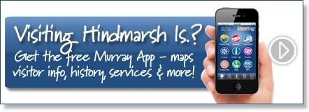 Visiting Hindmarsh Island? Get the free Murray River App
