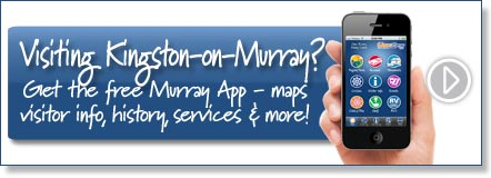 Visiting Kingston-on-Murray? Get the free Murray River App
