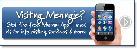 Visiting Meningie? Get the free Murray River App