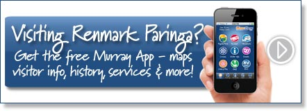 Visiting Renmark Paringa? Get the free Murray River App