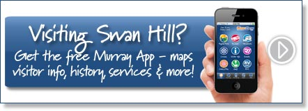 Visiting Swan Hill? Get the free Murray River App