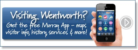 Visiting Wentworth? Get the free Murray River App