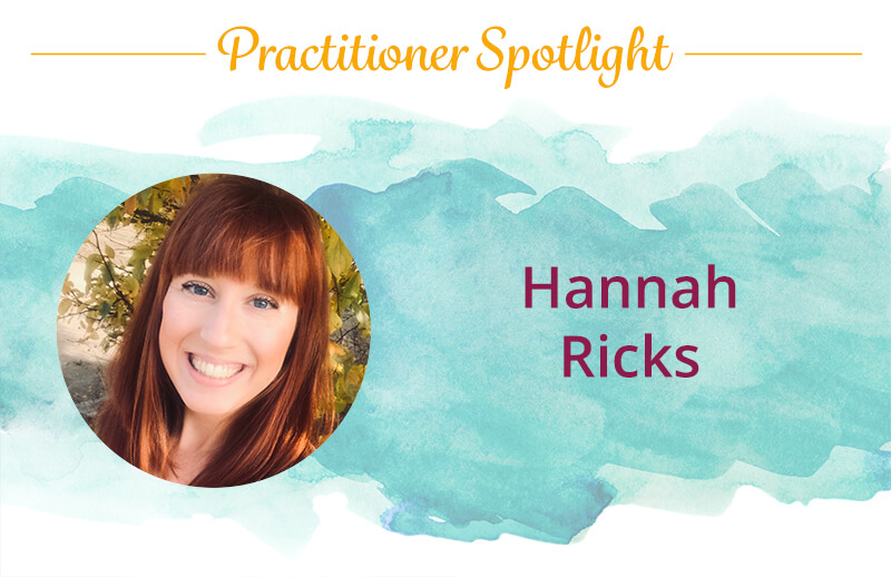 Hannah Ricks, a Discover Healing practitioner of The Body Code and The Emotion Code