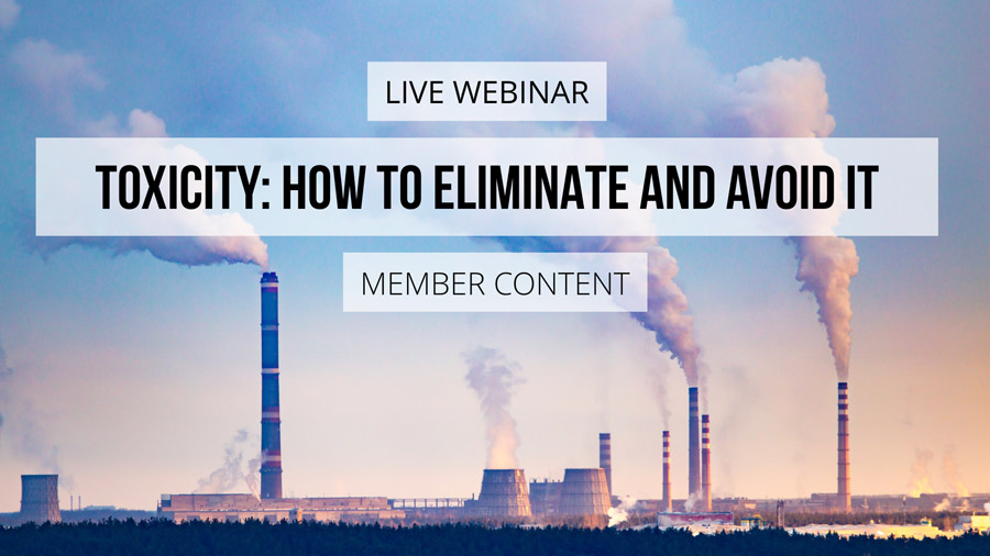 PREMIUM | All About Toxicity: How to Eliminate and Avoid It