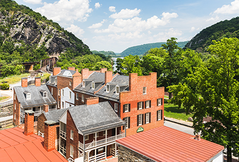 Shenandoah and Potomac Rivers Harpers ferry