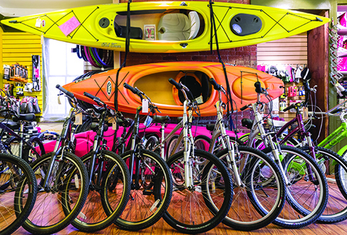 canoes bike shop Shepherdstown