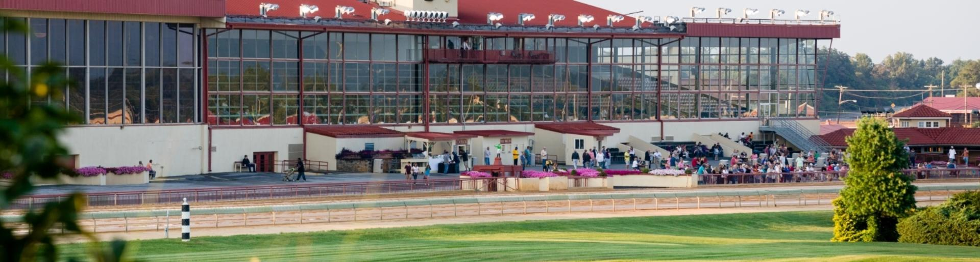 horse racing track at Hollywood Casino at Charles Town Races West Virginia
