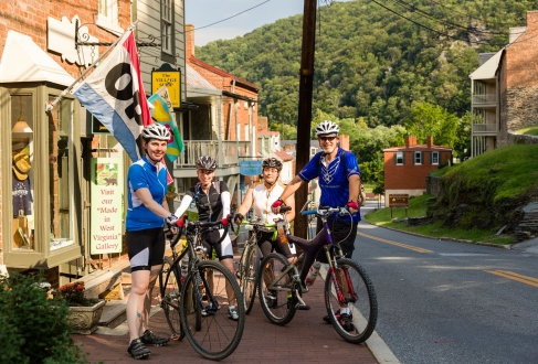 biking harpers ferry West Virginia