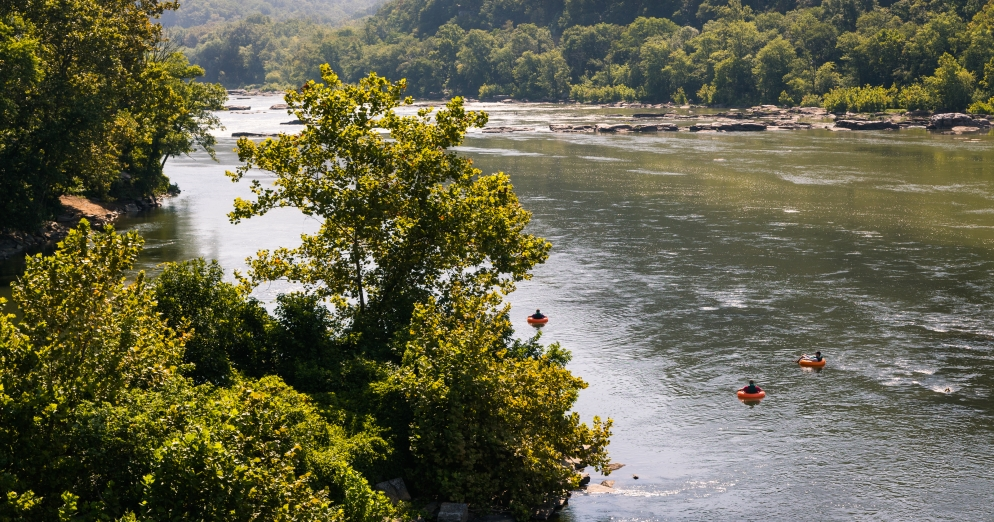 scenic Potomac River Harpers Ferry West Virginia