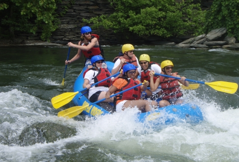 shenandoah river whitewater rafting West Virginia