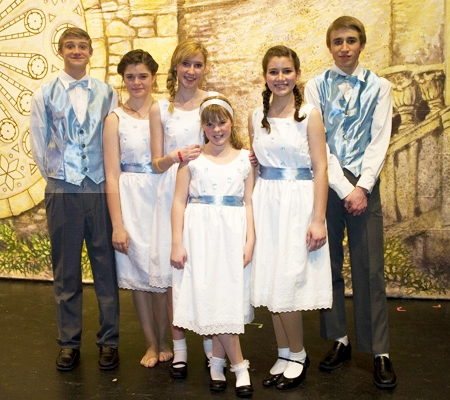 Von Trapp Children Wedding
