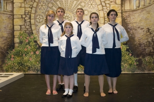 Von Trapp Children Uniforms