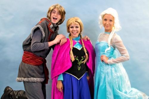 Kristoff, Anna & Elsa