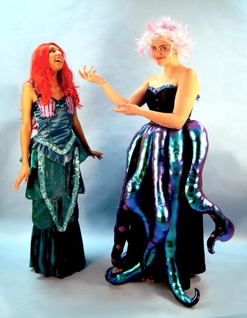 Usula and Ariel