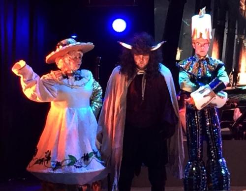 Mrs Potts, Beast & Lumiere