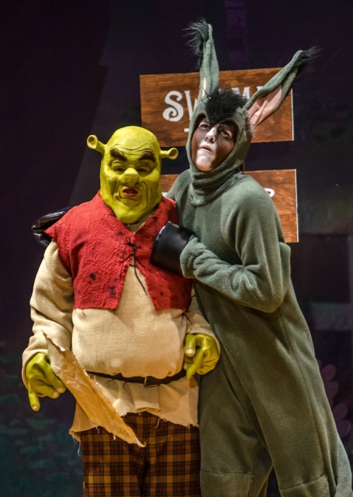 Shrek and Donkey
