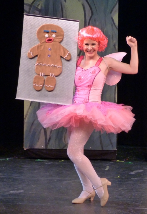 Sugar Plum and Gingy Puppet