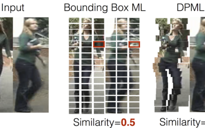 Person Re-identification using Deformable Patch Metric Learning
