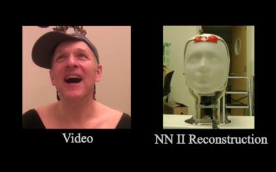 Imitating Human Movement with Teleoperated Robotic Head
