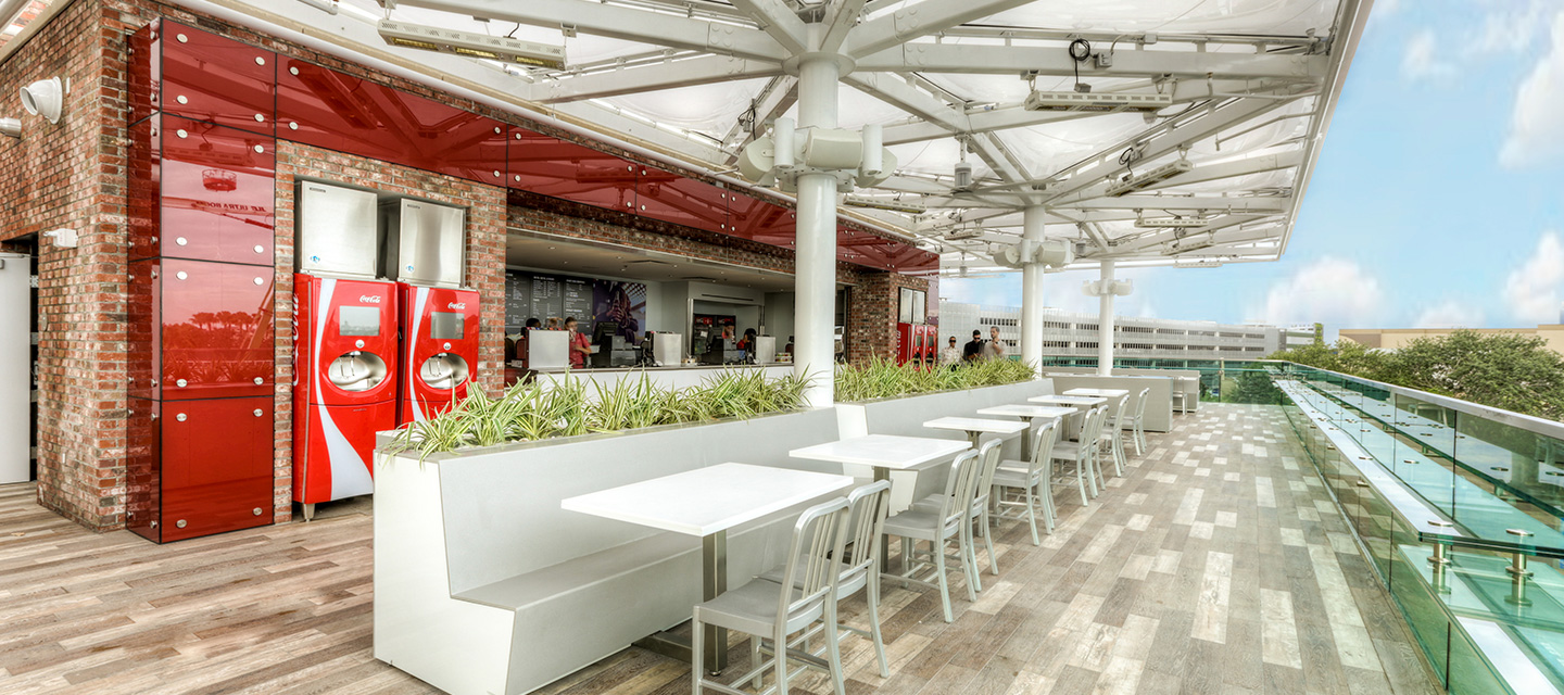 coca cola store rooftop beverage bar disney springs. Black Bedroom Furniture Sets. Home Design Ideas