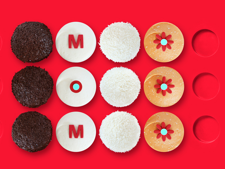 A dozen Sprinkles cupcakes in a special Mother's Day box