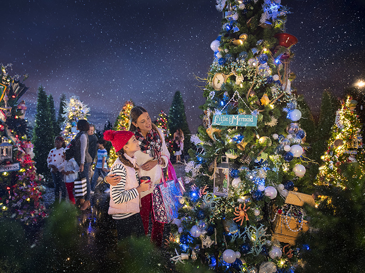 its a marketplace miracle - Disney Christmas Trees