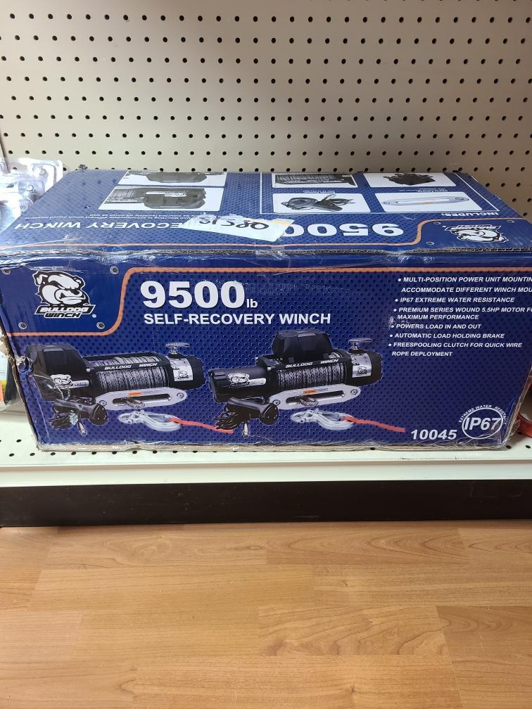 9500 LBS SELF-RECOVERY WINCH