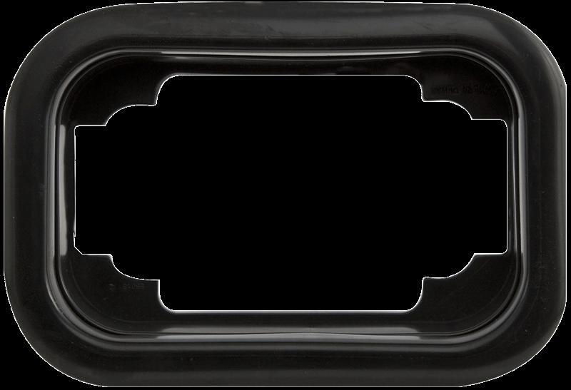 GROMMET 6.25 BLACK PVC F/ST-STL-33/34