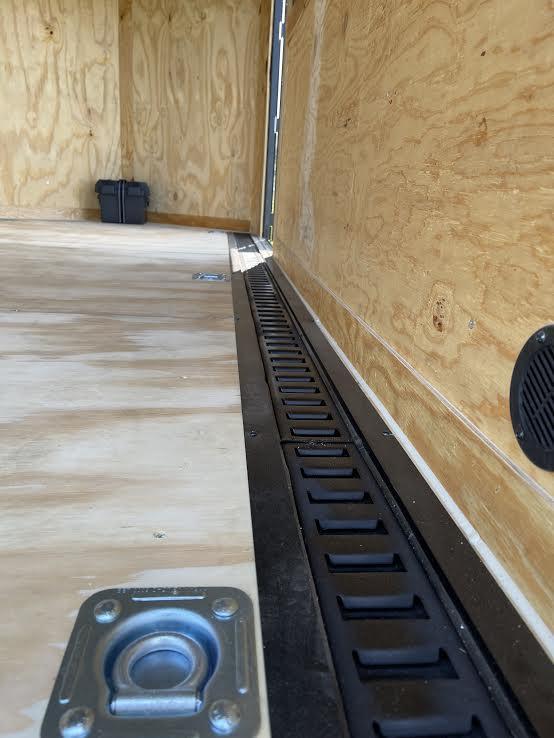 Floor or Wall E-Track $21 per foot.